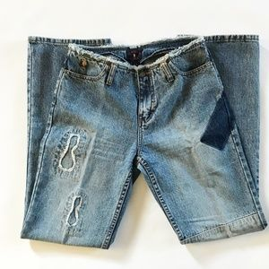 US Polo Assn Patchwork Jeans - Size 5/6 LIKE NEW!